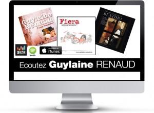 ecoutez les albums de guylaine renaud mis en ligne par Joaquin Vidal
