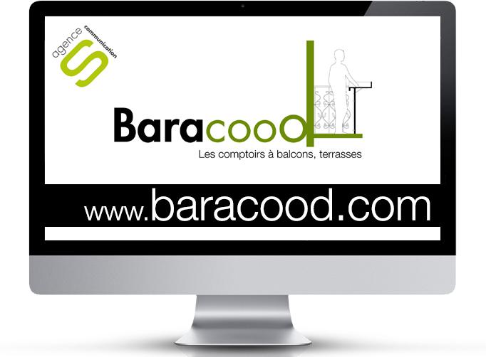 Site officiel de vente en ligne des Baracood, la table bar pour balcons et terrasses