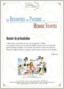 Dossier de présentation LES PASSEURS de Guylaine RENAUD
